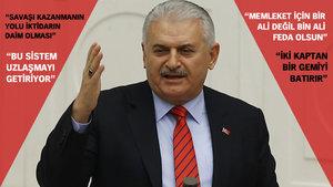 Başbakan Yıldırım: Memleketin geleceği için bir Ali değil bin Ali feda olsun