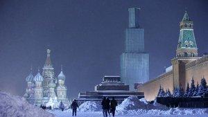 Moskova'da 120 yılın rekoru: -30