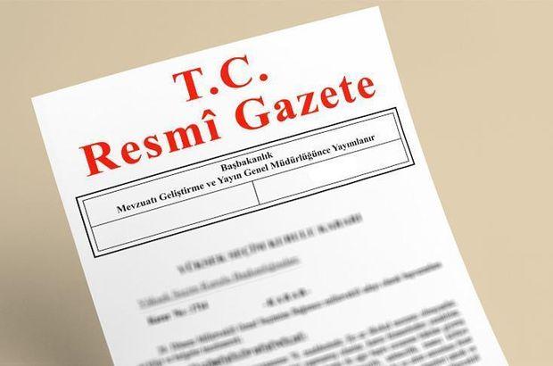 Sınai Mülkiyet Kanunu Resmi Gazete
