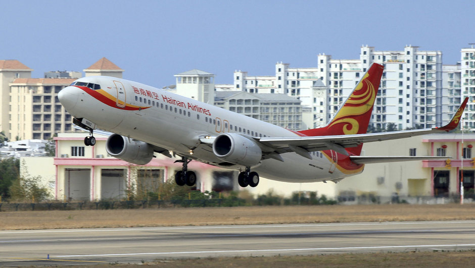 Çin uçak kazası
