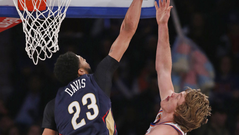 NBA Anthony Davis New Orleans Pelicans