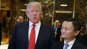 Trump, Alibaba Başkanı Jack Ma ile görüştü
