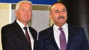 Çavuşoğlu, Jagland ile 'Kıbrıs'ı görüştü