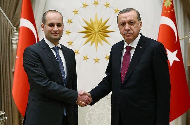 Cumhurbaşkanı Erdoğan, Janelidze ile görüştü