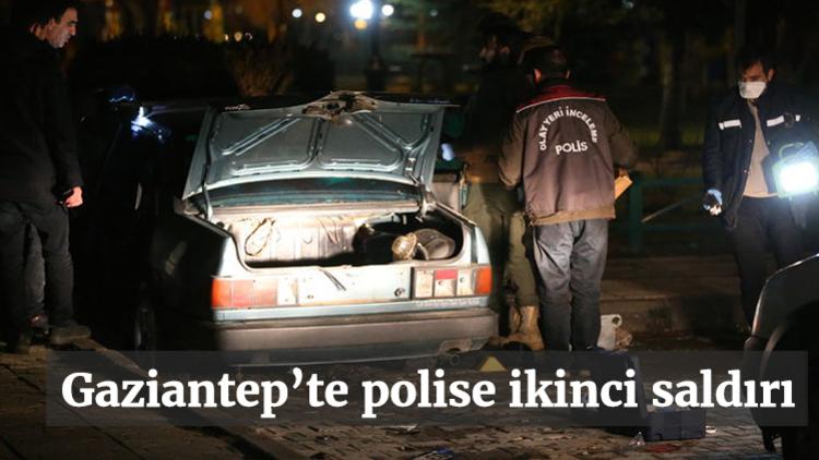 Gaziantep'te, devriye görevini yapan polis aracına ateş açılması sonucu çatışma çıktı.