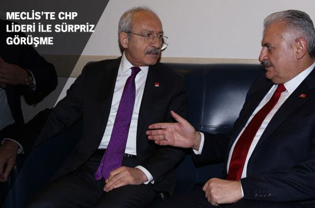 Başbakan'dan Kılıçdaroğlu ile sürpriz görüşme