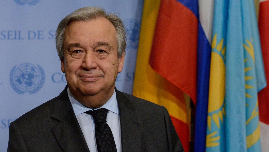 BM Antonio Guterres