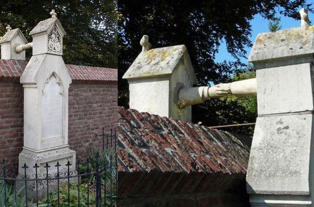 Aynı mezarlığa gömülmelerine izin verilmeyince bunu yaptılar!