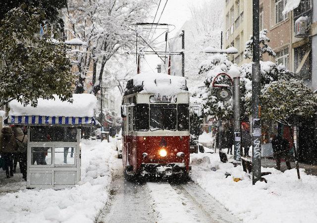 66 yılın kar kalınlığı rekoru:130 cm