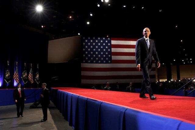 Obama'dan veda konuşması: 'Başardık' dedi, Suriye'den hiç bahsetmedi!