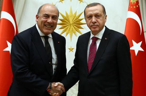 Erdoğan Muhtar Kent'i kabul etti