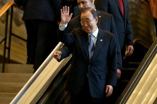 Eski BM Genel Sekreteri Ban Ki-mun'a şok