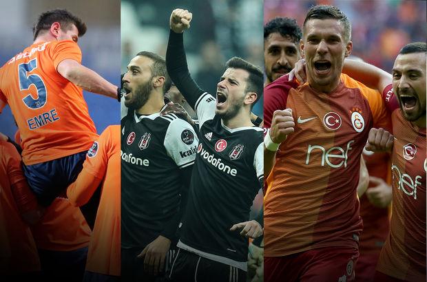Fenerbahçe Beşiktaş Başakşehir Galatasaray