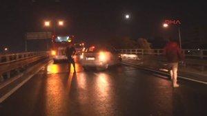 İzmir'de buzlanma sonucu zincirleme kaza meydana geldi