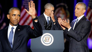 Obama'dan veda konuşması!