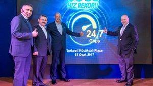 Turkcell, 5G testinde 24,7 Gbps hıza ulaştı