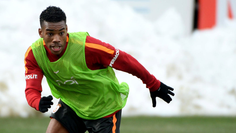 Garry Rodrigues Galatasaray antrenman
