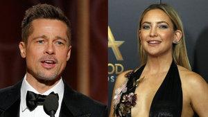 'Brad Pitt ile Kate Hudson birlikte' iddiası