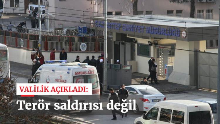 Gaziantep Valiliği, dün emniyet müdürlüğüne yapılan saldırıda terör bağlantısı bulunamadığını açıkladı.
