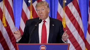 Donald Trump'dan ilk basın toplantısı