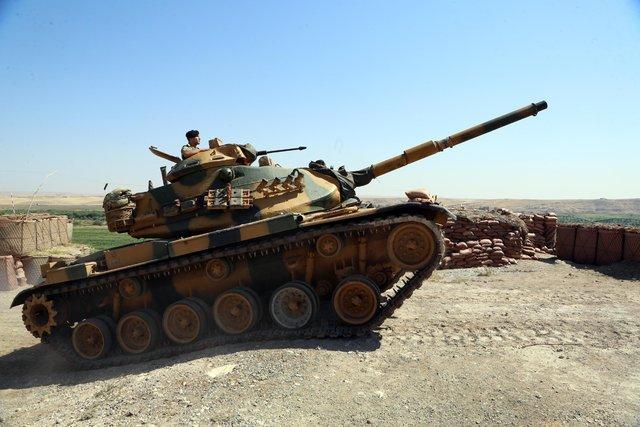 İki kahraman tank komutanı El-Bab önünde destan yazdı