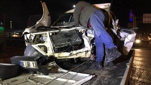 İhtara uymayan sürücü kaza yaptı: 7 yaralı