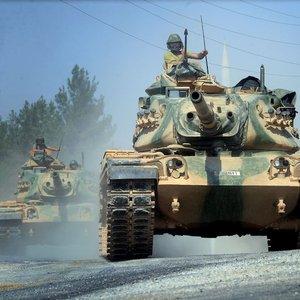 İki kahraman tank komutanı!