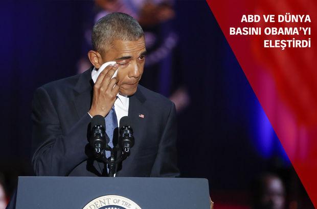 'Timsah gözyaşları', 'Hayal kırıklığı', 'Birçok kişi onu affedemeyecek'