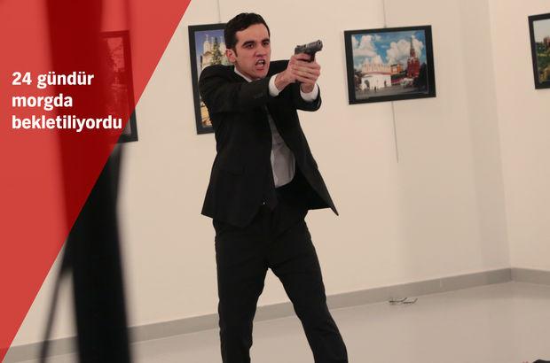Rus büyükelçinin katilinin cenazesi için karar verildi!