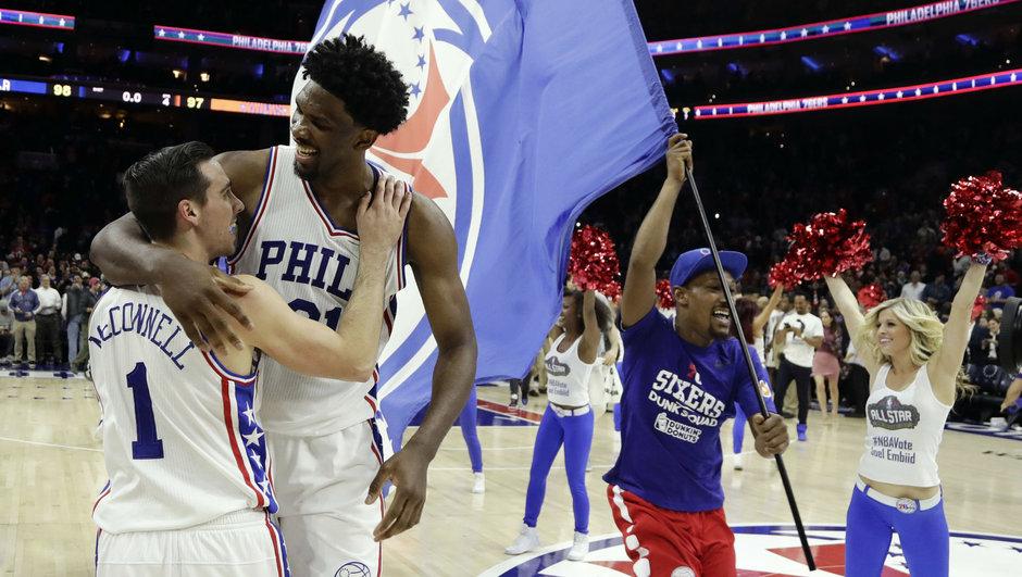 Philadelphia 76'ers New York Knicks NBA