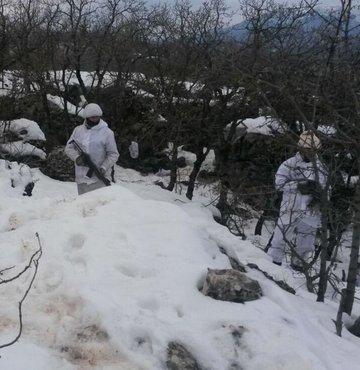 Suikast hazırlığındaki PKK'lı öldürüldü