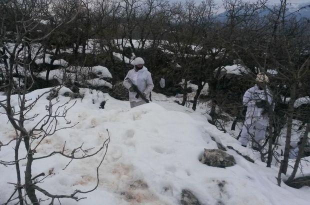Suikast hazırlığındaki PKK'lı öldürüldü!