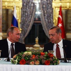 Erdoğan'la Putin görüştü
