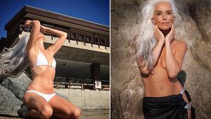60 yaşındaki model Yazemeenah Rossi