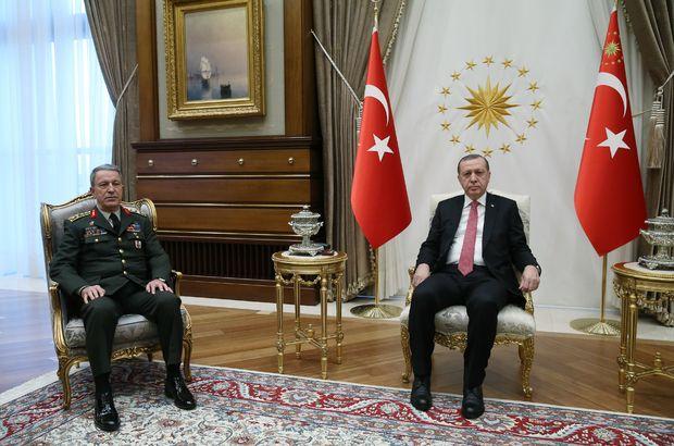 Recep Tayyip Erdoğan Hulusi Akar