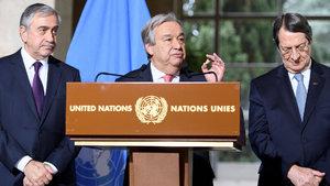 BM Genel Sekreteri Antonio Guterres'den Kıbrıs açıklaması