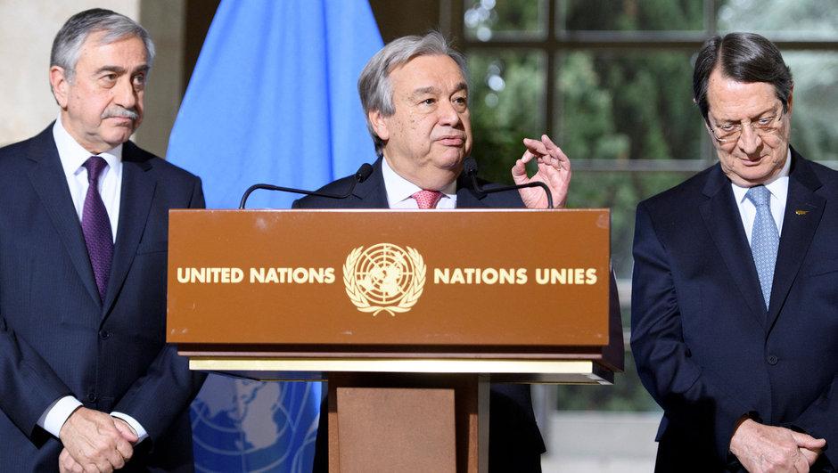 Antonio Guterres Kıbrıs