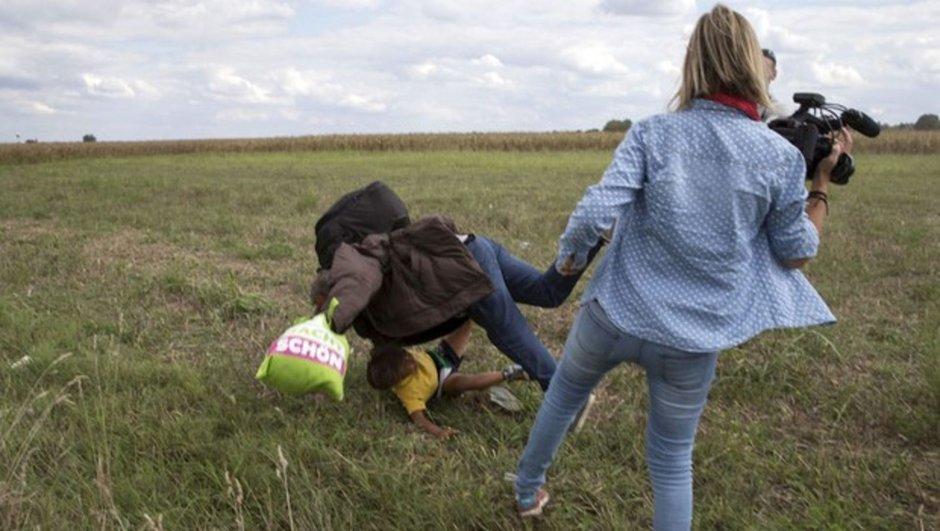 Macaristan Sırbistan sığınmacı kameraman