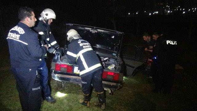 Gaziantep'te akılalmaz kaza: 1 ölü, 4 yaralı...