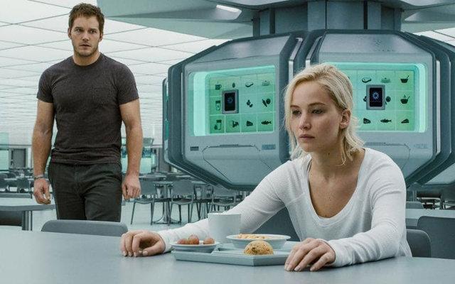 """Jennifer Lawrence'tan """"Uzay Yolcuları"""" itirafı!"""