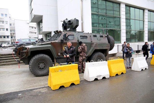 Trabzon'da korku dolu anlar