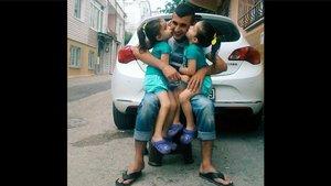 Bursa'da eşini ve ikiz kızlarını kaybeden baba Habertürk'e konuştu