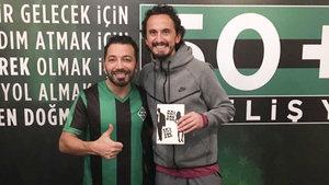 Yazar Aşkım Kapışmak, futbol dünyasına el attı!