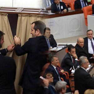 Meclis'te renkli anlar da yaşandı...