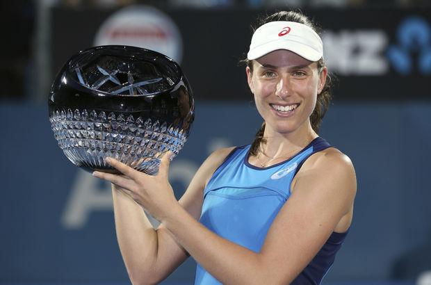 Johanna Konta Uluslararası Sydney Tenis Turnuvası