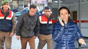 Manisa'da hamile kadını darp eden saldırgan hakim karşısında