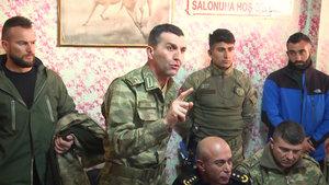 Hakkarili esnaf askere çarşı izni istedi, komutan kabul etti!