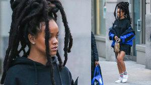 Rihanna'nın 5 bin dolarlık sokak kıyafeti