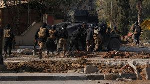 Irak ordusu Musul'da DEAŞ'ın en önemli üssüne girdi