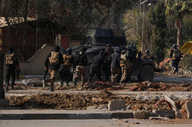 Irak ordusu DEAŞ'ın elindeki Musul Üniversitesi'ne girdi
